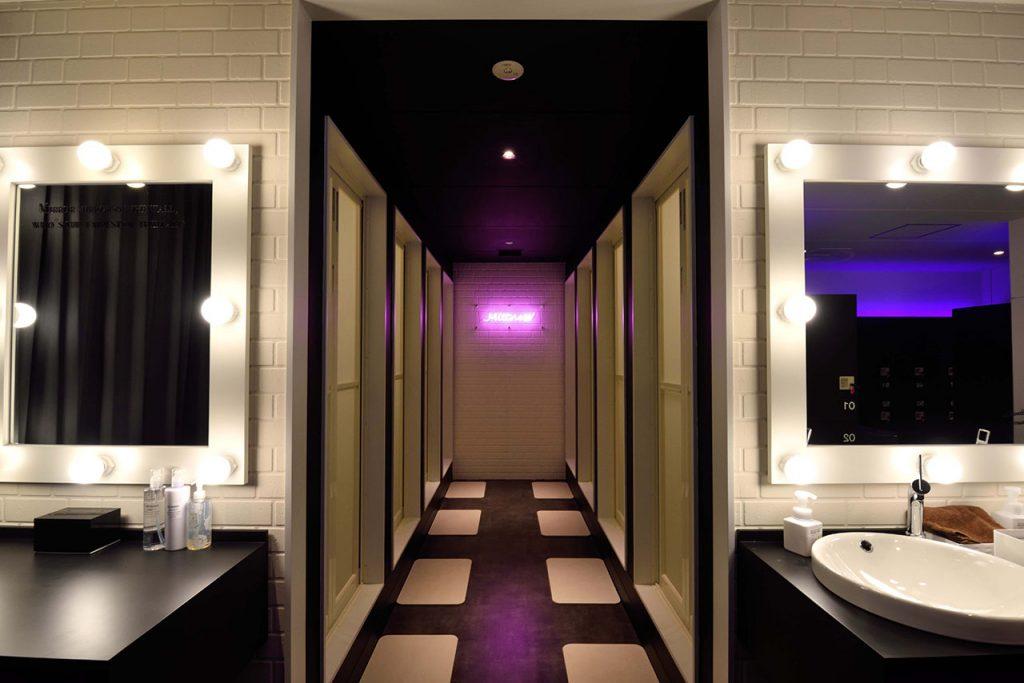 ミットネス赤坂店 シャワールーム