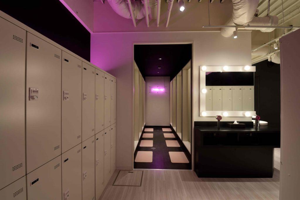ミットネス渋谷店 シャワールーム