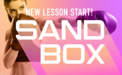New lesson SAND BOX