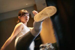 キックボクシングで脚痩せダイエット!6つのポイントを押さえて楽しく痩せよう!画像3